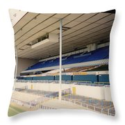 Tottenham - White Hart Lane - East Stand 3 - April 1991 Throw Pillow