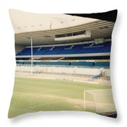 Tottenham - White Hart Lane - East Stand 4 - April 1991 Throw Pillow