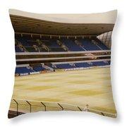 Tottenham - White Hart Lane - West Stand 2 - 1980s Throw Pillow