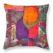 Toucan Batik Throw Pillow