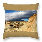 Touch Of A Rainbow Throw Pillow