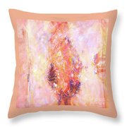 Touch Of Music Throw Pillow