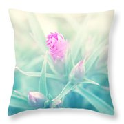 Touch Of Pink Throw Pillow