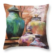 Touch Of Tuscan Throw Pillow