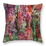 Touch Of Velvet Throw Pillow