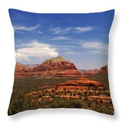 Touch The Earth Throw Pillow