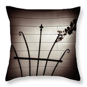 Touching Throw Pillow