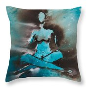 Touching The Universe II Throw Pillow
