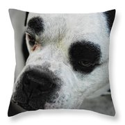 Tough Guy Throw Pillow