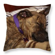 Tough Life Throw Pillow