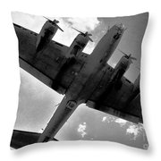 Tough Old Bird Throw Pillow