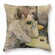 Toulouse-lautrec, 1889 Throw Pillow