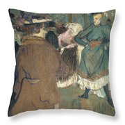 Toulouse-lautrec, 1892 Throw Pillow