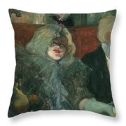 Toulouse-lautrec, 1899 Throw Pillow