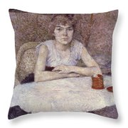 Toulouse-lautrec: Powder Throw Pillow