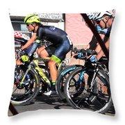 Tour Of The Gila 2 Throw Pillow