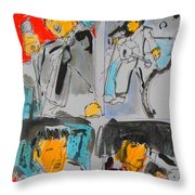 Tour Throw Pillow