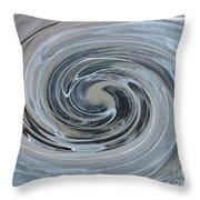 Tourbillon Polaire I / Polar Vortex I Throw Pillow