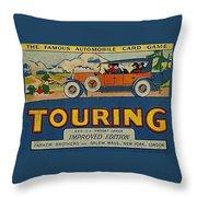 Touring Throw Pillow