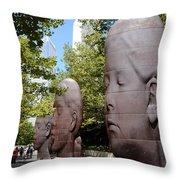 Tourism Throw Pillow