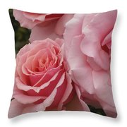 Tournament Of Roses Throw Pillow