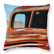 Tousled Ford 1945  Throw Pillow
