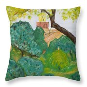 Tout Pres De La Mer. Throw Pillow