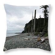 Tow Hill Haida Gwaii Bc Throw Pillow