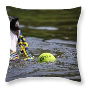 Tow Rope Throw Pillow