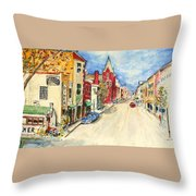 Towanda Pa Throw Pillow