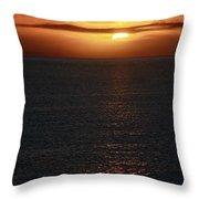 Towards The Horizon Throw Pillow
