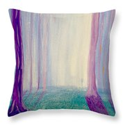 Towards The Light. Throw Pillow