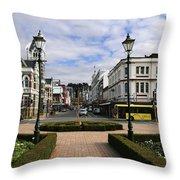 Towards The Octagon Dunedin Throw Pillow