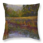 Towards Ticonderoga Throw Pillow