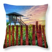 Tower At The Dunes Throw Pillow