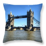 Tower Bridge 3 Throw Pillow