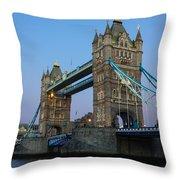 Tower Bridge 5 Throw Pillow