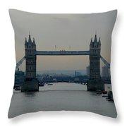 Tower Bridge, London Throw Pillow