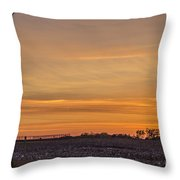 Tower By Sunset Throw Pillow