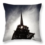 Tower Of Babel Throw Pillow