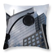 Tower Of Glass  Throw Pillow