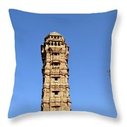 Tower Of Victory Throw Pillow