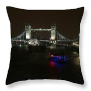 Tower Over The Thymes Throw Pillow