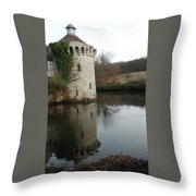 Tower Reflection Throw Pillow