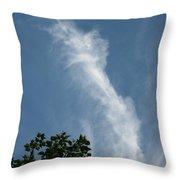 Towering Cloud Throw Pillow