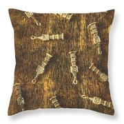 Towers Of Old Britain Throw Pillow