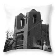 Town Hall  Throw Pillow