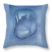 Town In A Bubble Throw Pillow