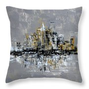 Town Line Throw Pillow