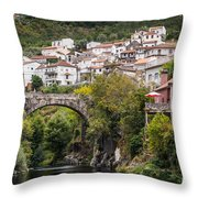 Town Of Avo Throw Pillow
